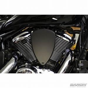 Big Air Kit Smooth - Black Honda Vtx 1800 By
