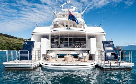 spirit superyacht cairns great barrier reef yacht charter