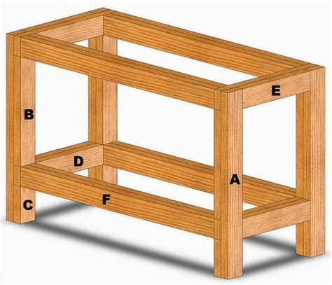 Wood Workbench Plans Free Download  Quick Woodworking