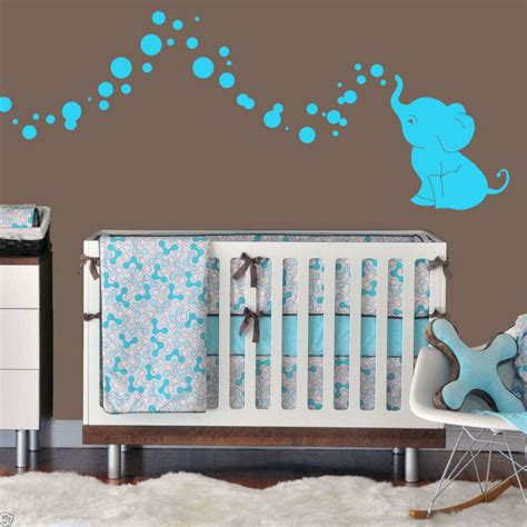 stickers elephant chambre bébé elephant baby nursery theme thenurseries