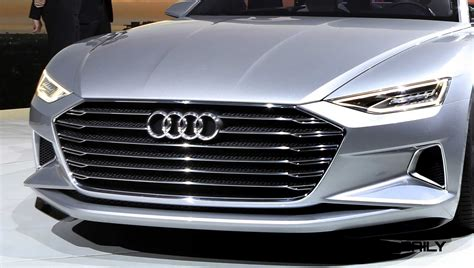 2018 Audi Prologue Concept World Debut And Design Analysis