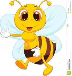 Cute Cartoon Bumble Bees