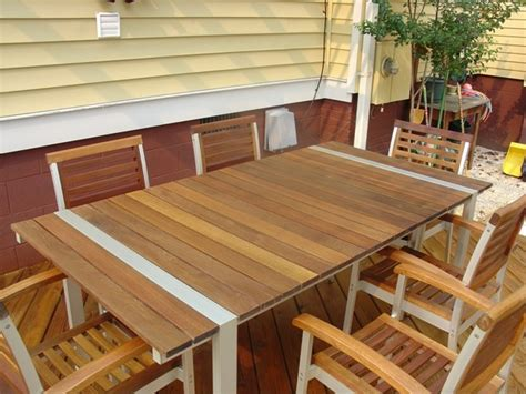 teak restoration staining teak outdoor furniture