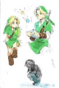Legend of Zelda Dark Link Ocarina of Time