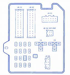 Mazda 6 2300l 2005 Fuse Box  Block Circuit Breaker Diagram