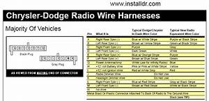 Dodge Wiring Diagram - Head Unit