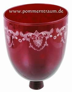 Kerzenständer Mit Glasaufsatz : glasaufsatz f r kerzenleuchter pantographie royal rot ~ Indierocktalk.com Haus und Dekorationen