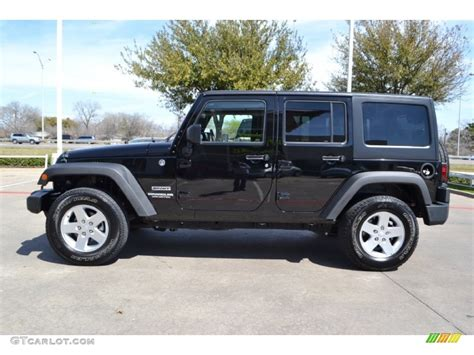jeep wrangler unlimited sport black 2011 jeep wrangler unlimited sport 4x4 exterior