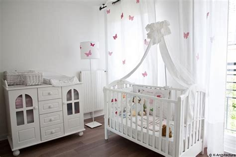 chambre bébé fille comment bien organiser une chambre bébé