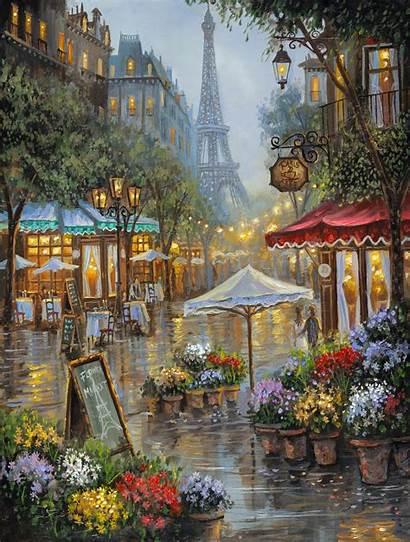 Paris Market Flower 14x11 Finale Robert