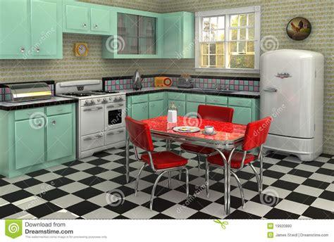 cuisine vintage 馥s 50 cuisine des ées 50 photo stock image 19920880