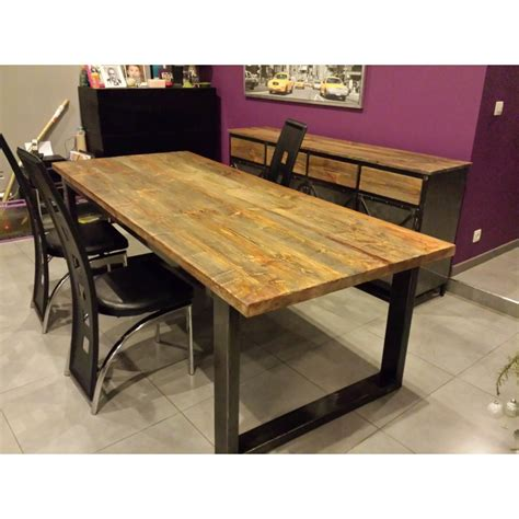 table cuisine style industriel table haute style industriel maison design bahbe com