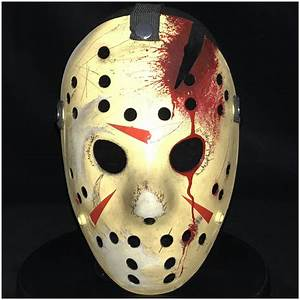 Deluxe Jason Hockey Mask Part 4 - Mad About Horror