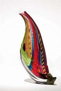 Quail Sculpture by Mike Wallace (Art Glass Sculpture