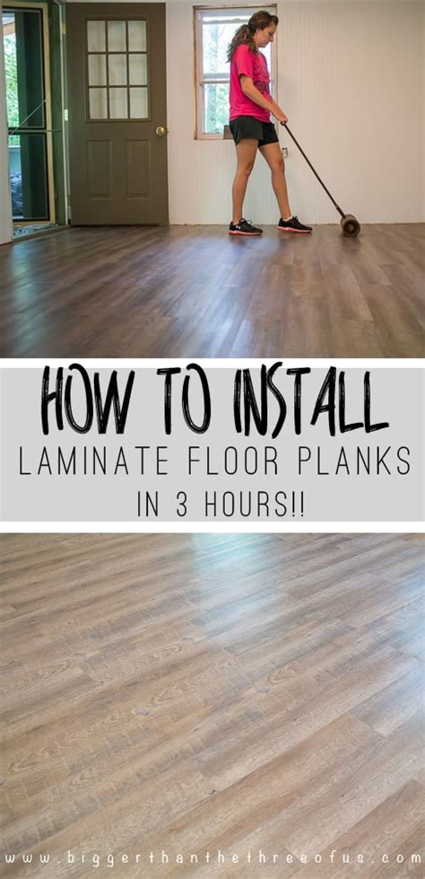 how do you install hardwood flooring how to install laminate flooring bigger than the three of us