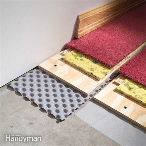 how to carpet a basement floor the family handyman how to carpet a basement floor the family handyman