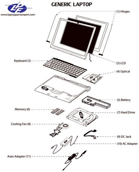 Sony Vaio Pcg Replacement Parts Laptop Expert