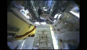 Astronauts Enter Private Dragon Capsule at Space Station