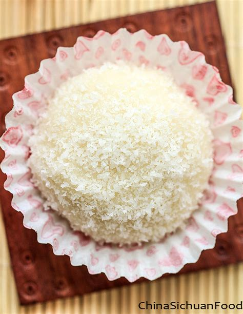 Dragon Boat Festival Rice Cake by Sticky Rice Cake With Coconut Nuomici China Sichuan Food