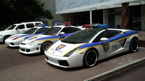 Top 10 Exotic Police Cars