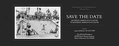 save  date invitations  cards evite