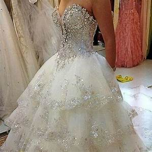 Sparkly wedding dress beautiful dresses pinterest for Wedding dresses sparkly