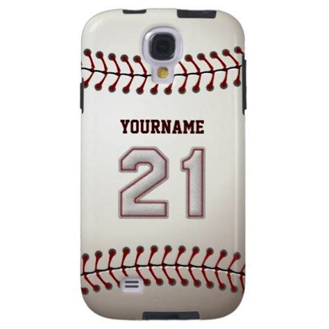player number  cool baseball stitches  case mate