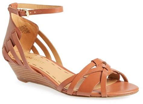Nine West Villea Ankle Strap Wedge Sandal