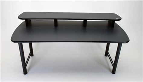 multi computer desk dual surface monitor computer desk
