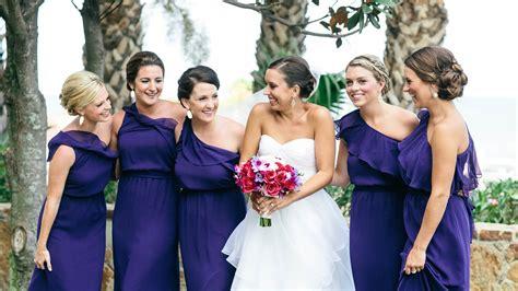 bridesmaids dress colors  fall weddings