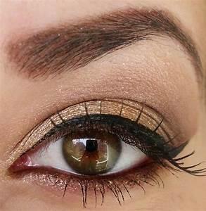 Easy Everyday Eye Makeup for Brown Eyes   Eye Makeup Ideas ...