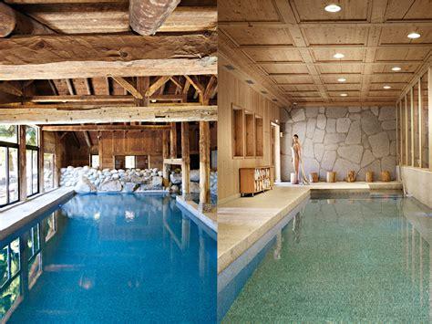 chambre d hotes megeve les fermes de megève piscine intérieure