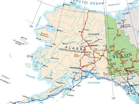 political map  yukon territory chainimage