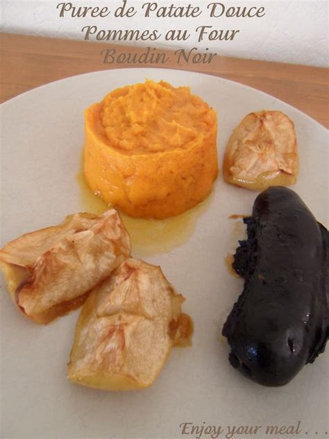 cuisiner la patate douce à la poele purée de patate douce boudin noir pommes au four cathy 39 s delights