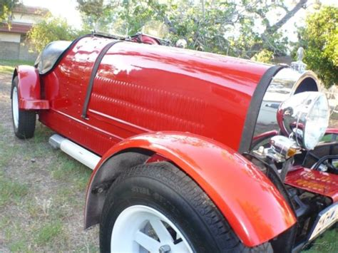 1927 bugatti roadster kit car.vw engine an frame. 1927 BUGATTI 35 Musuem Movie Recreation Replica VW Kit