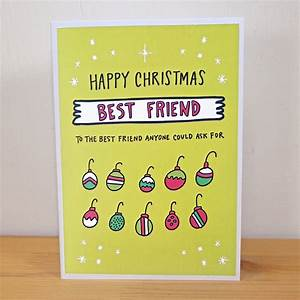 Best Friend Christmas Cards – Festival Collections