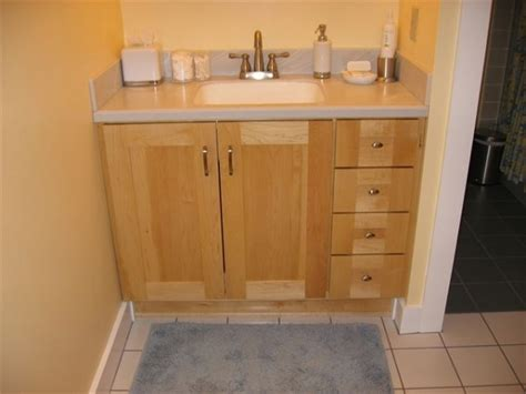 Valuable Inspiration Maple Bathroom Vanity Cabinets Home