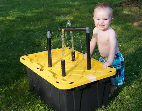 water table for kids 20 cool diy play tables for a kids room kidsomania