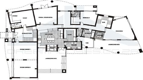 modern house plans contemporary house floor plans