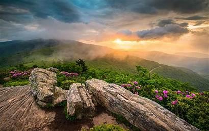Desktop Appalachian Mountains Tennessee Sunset Pc Landscape