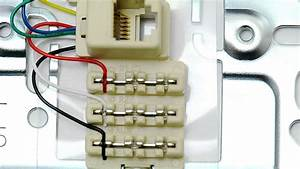 Icc Rj12 6 Conductor Wall Plate - 1 Port