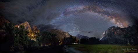 Apod May That Night Over Half Dome