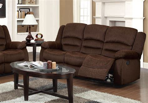 Bailey Reclining Sofa (chocolate) Acme Furniture