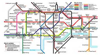 London Underground Map...