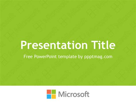 microsoft ppt templates free microsoft powerpoint template pptmag