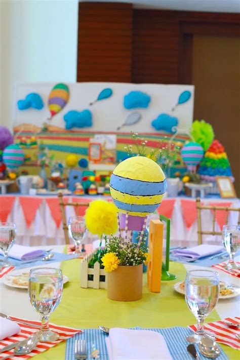 Oh The Places You Ll Go Decorations - kara s ideas centerpiece from an oh the places you