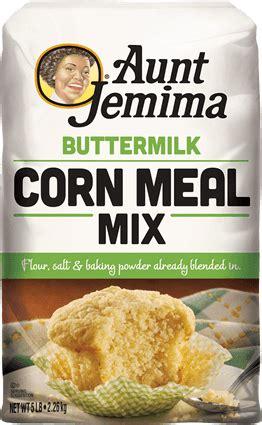 Buttermilk Corn Meal Mix | AuntJemima.com