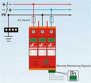 Photovoltaic Spd Pv Spd Surge Protection Device Solar
