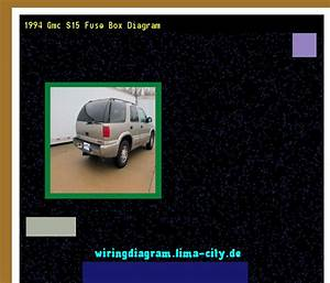 1994 Gmc S15 Fuse Box Diagram  Wiring Diagram 185824