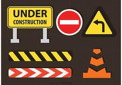 Construction Under Vectors Graphics System Vectorified